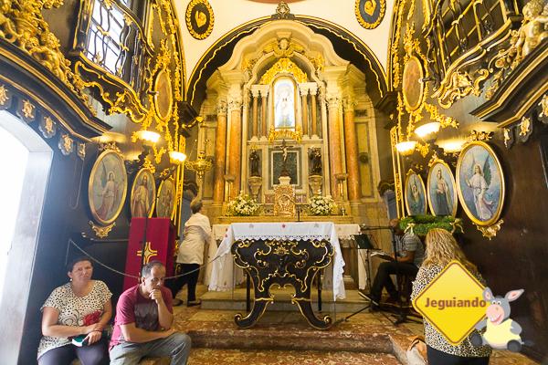 Altar do Convento da Penha. Imagem: Erik Araújo #DescubraoES