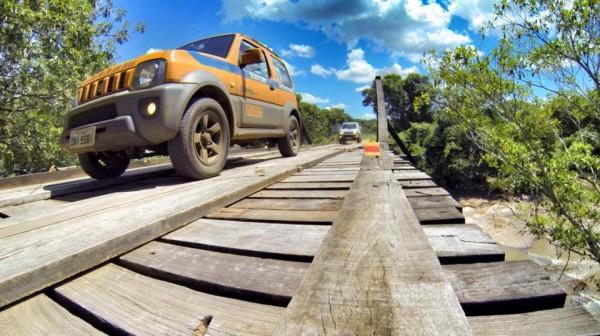 Desafio Jimny em Campo Grande. Imagem: Suzuki / iFruit