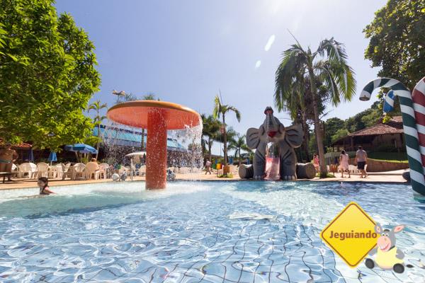 Hotel Estância Barra Bonita. Parque aquático. Imagem: Erik Araújo