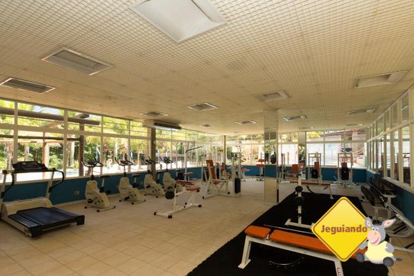 Fitness center. Hotel Estância Barra Bonita. Imagem: Erik Araújo