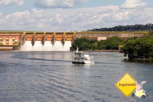Passeio para assistir ao funcionamento da eclusa de Barra Bonita. Barra Bonita, SP. Imagem: Erik Araújo