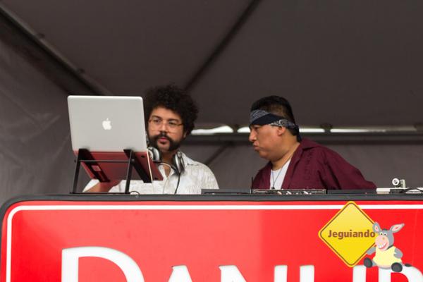 DJ Tide e DJ Pancho Valdez. Imagem: Erik Araújo