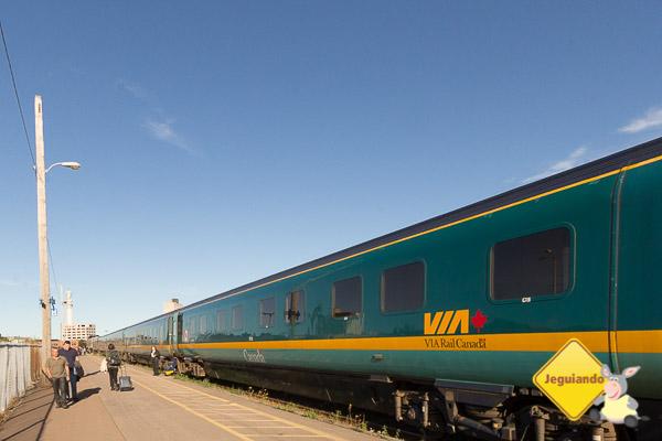 Viaje pelo Canadá a bordo dos trens da Via Rail. Imagem: Erik Araújo