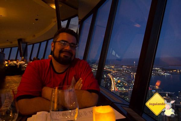 Restaurante 360º. CN Tower. Toronto, Ontário. Imagem: Janaína Calaça