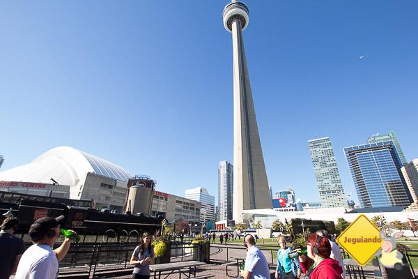 CN Tower. Toronto, Ontário. Imagem: Janaína Calaça