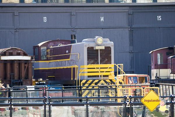 Trem da Canadian Pacific. Imagem: Erik Araújo