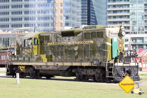 Trem da Canadian National. Imagem: Erik Araújo