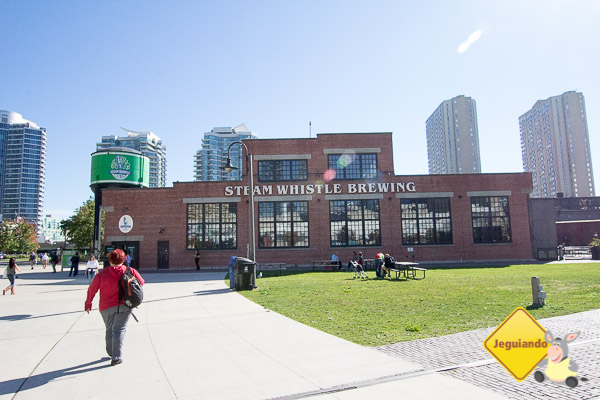 Steam Whistle Brewing. Imagem: Erik Araújo