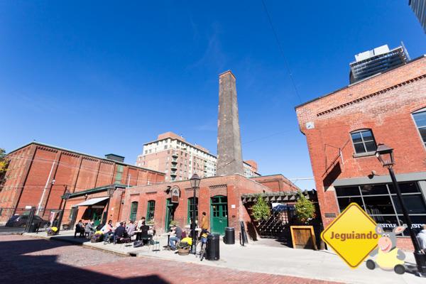 Distillery District. Toronto, Ontário. Imagem: Erik Araújo