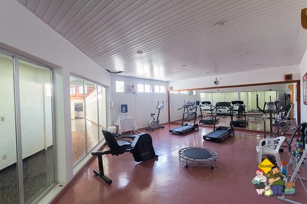 Fitness center. Imagem: Erik Araújo