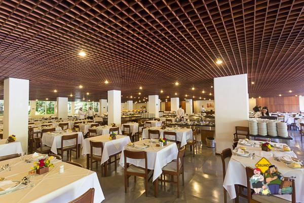 Restaurante do Hotel Majestic. Imagem: Erik Araújo