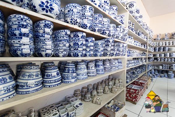 Porcelanas de Monte Sião. Imagem: Erik Araújo