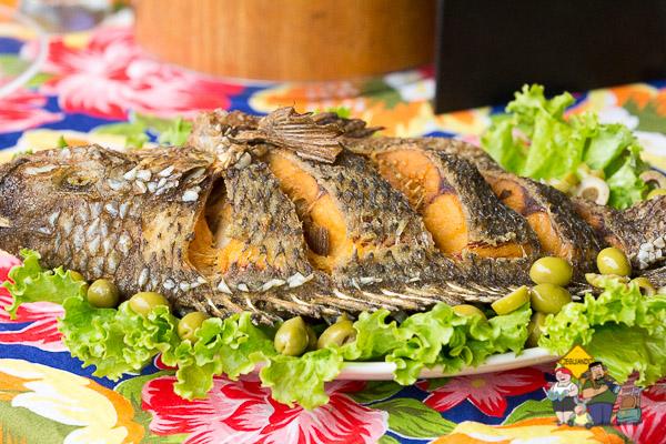 Peixe frito do Velho Chico. Imagem: Erik Araújo
