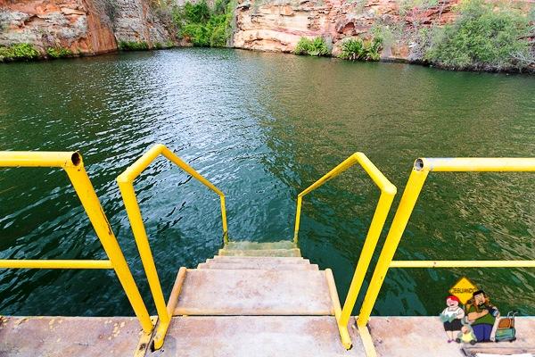 Hora de nadar! Imagem: Erik Araújo