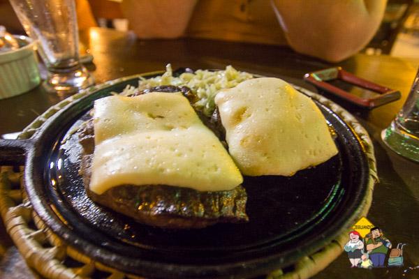 Carne do sol com queijo coalho. Imagem: Erik Araújo