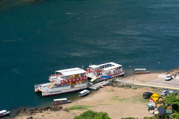Atracadouro de Piranhas, de onde partem vários passeios pela região, inclusive a Rota do Cangaço. Imagem: Erik Araújo