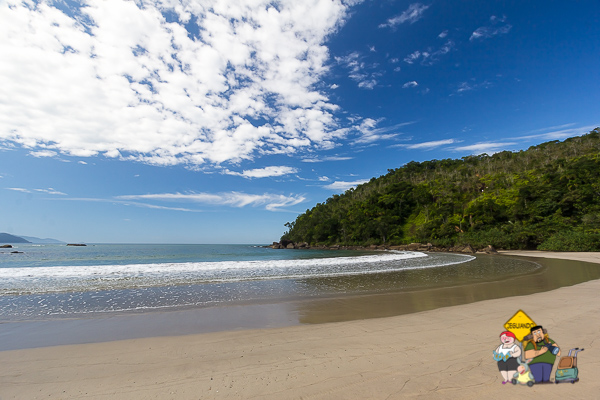 Praia de Castelhanos. Imagem: Erik Araújo