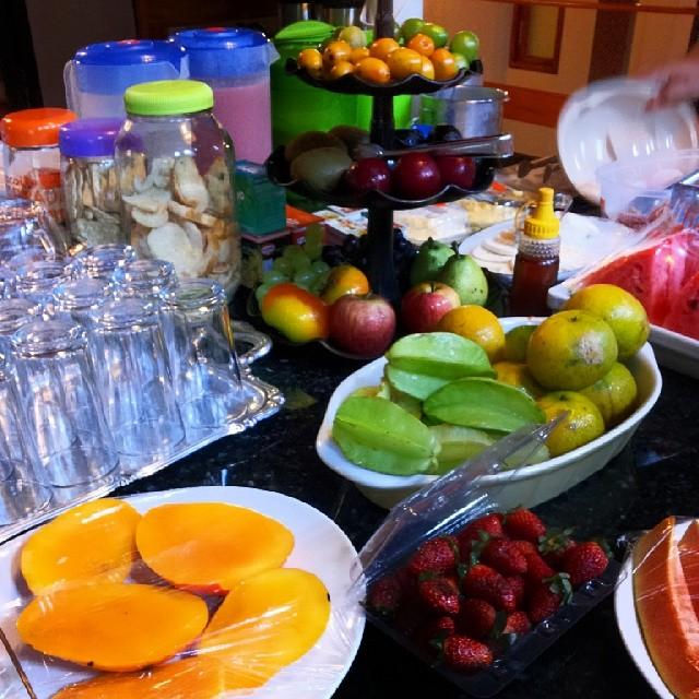 Café da manhã da Pousada O Imperador. Piranhas, AL. Imagem: Erik Araújo