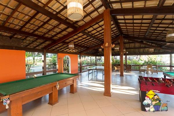 Sala de jogos. Cana Brava Resort. Ilhéus, Bahia. Imagem: Erik Araújo