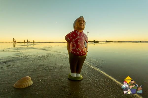 Até Jorge Amado quis assistir ao pôr do sol no Cana Brava Resort. Imagem: Erik Araújo