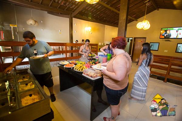Café da manhã. Pousada O Imperador. Piranhas, Alagoas. Imagem: Erik Araújo