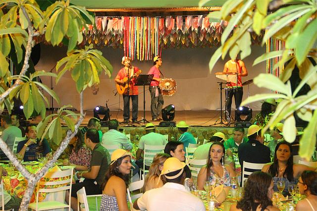 Evento no Cana Brava Resort. Imagem: Divulgação