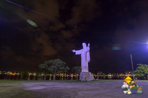 Cristo Redentor de Ilhéus, na Baía do Pontal. Ilhéus, Bahia. Imagem: Erik Araújo