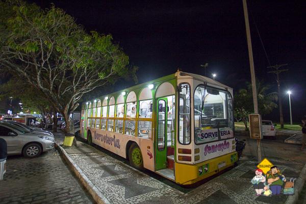 Sorveteria Sensação desbanca qualquer food truck! Imagem: Erik Araújo
