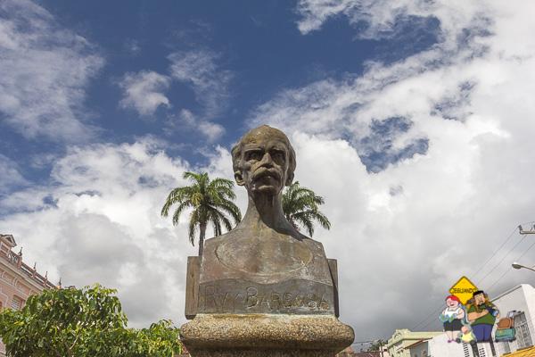 Praça Rui Barbosa. Centro histórico de Ilhéus, Bahia. Imagem: Erik Araújo