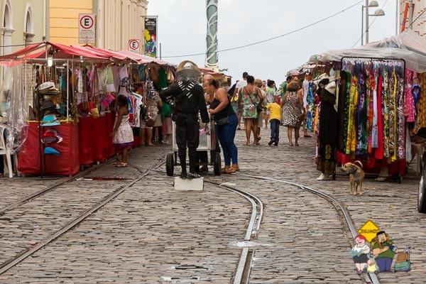 Feirinha de Artesanato Recife Antigo. Imagem: Erik Araújo