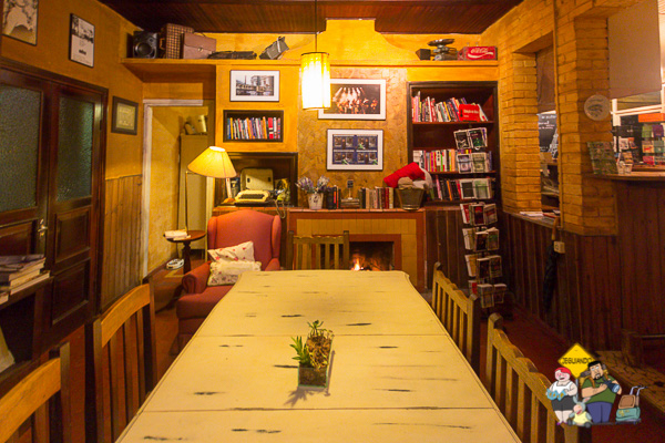 Sala da Livraria da Alameda. Imagem: Erik Araújo