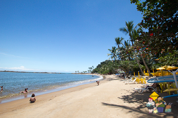 Praia da Concha. Itacaré, Bahia. Imagem: Erik Araújo