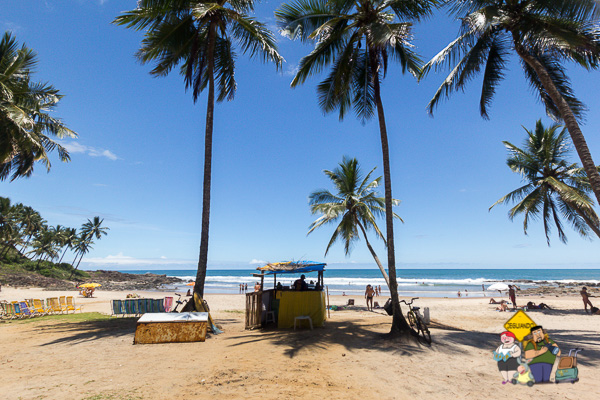 Praia do Resende. Itacaré, Bahia. Imagem: Erik Araújo