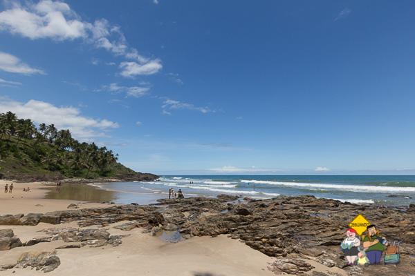 Praia do Tiririca. Itacaré, Bahia. Imagem: Erik Araújo