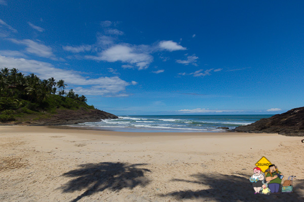 Praia da Costa. Itacaré, Bahia. Imagem: Erik Araújo