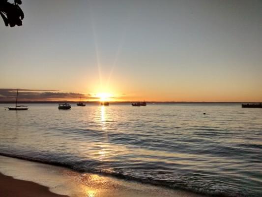O por do Sol na Barra Grande. Imagem: Erik Araújo