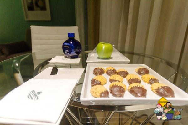 Mimos do Bourbon Convention Ibirapuera para gente! Imagem: Erik Araújo