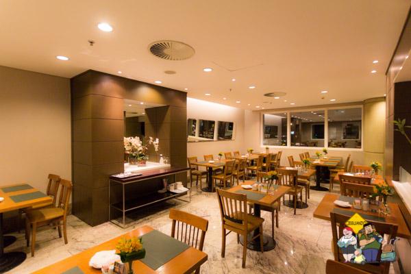 Restaurante Figueira. Bourbon Convention Ibirapuera. Imagem: Erik Araújo