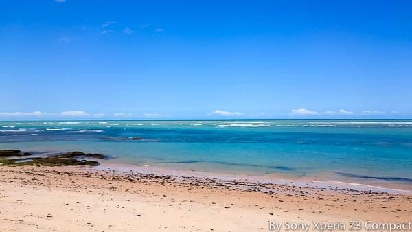 Praia de Arraial d'Ajuda. Imagem: Erik Araújo