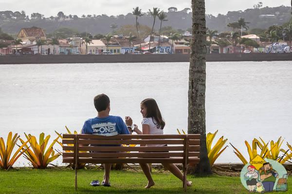 Avistando Porto Seguro às margens do Rio Buranhém. Imagem: Erik Araújo