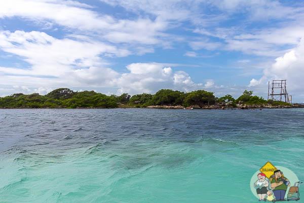 O mar caribenho. Imagem: Erik Araújo