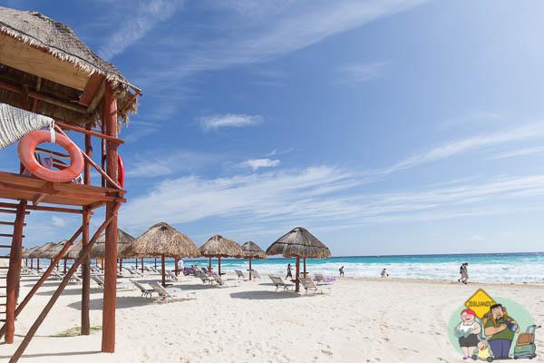 A paradisíaca Cancun. Imagem: Erik Araújo