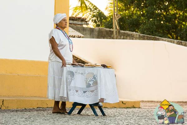 O que tem no tabuleiro da baiana? Imagem: Erik Araújo