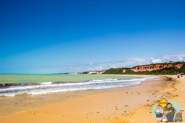 Praia da Pitinga, Arraial d'Ajuda. Imagem: Erik Araújo
