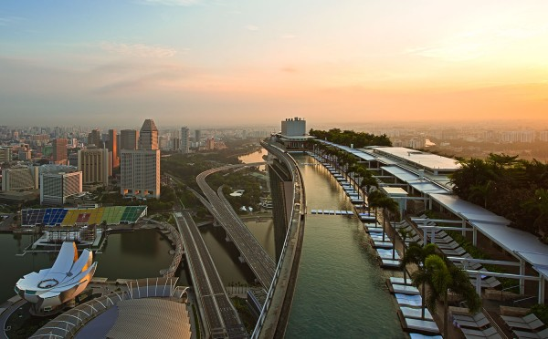Sky Park, The Marina Bay Sands. Imagem: Marina Bay Sands