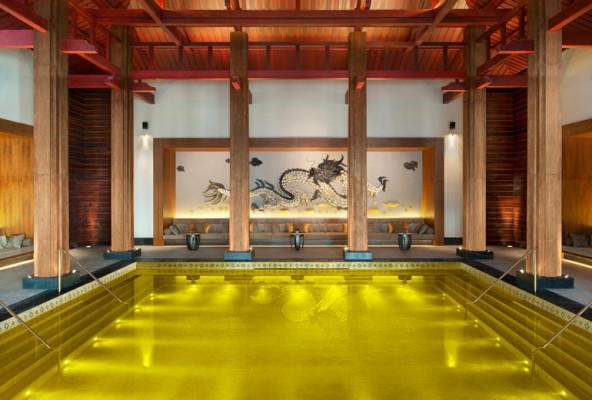 Gold Energy Pool. Imagem: Starwood Hotels