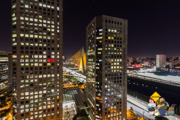 Vista da Suíte Presidencial do Sheraton WTC. Imagem: Erik Araújo