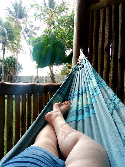Hora de descansar na rede! Imagem: Janaína Calaça