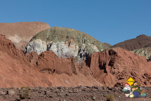 Coloração do Vale do Arco-íris. Imagem: Erik Araújo