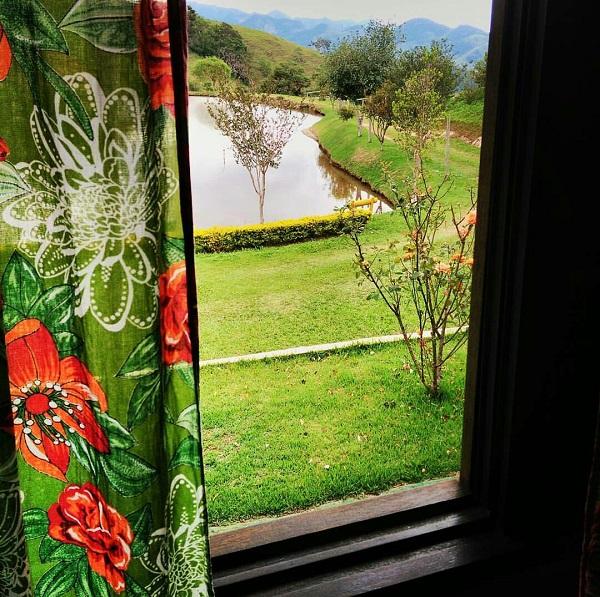 Vista da janela do nosso quarto. Imagem: Janaína Calaça